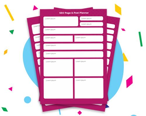 SEO Planner Worksheet